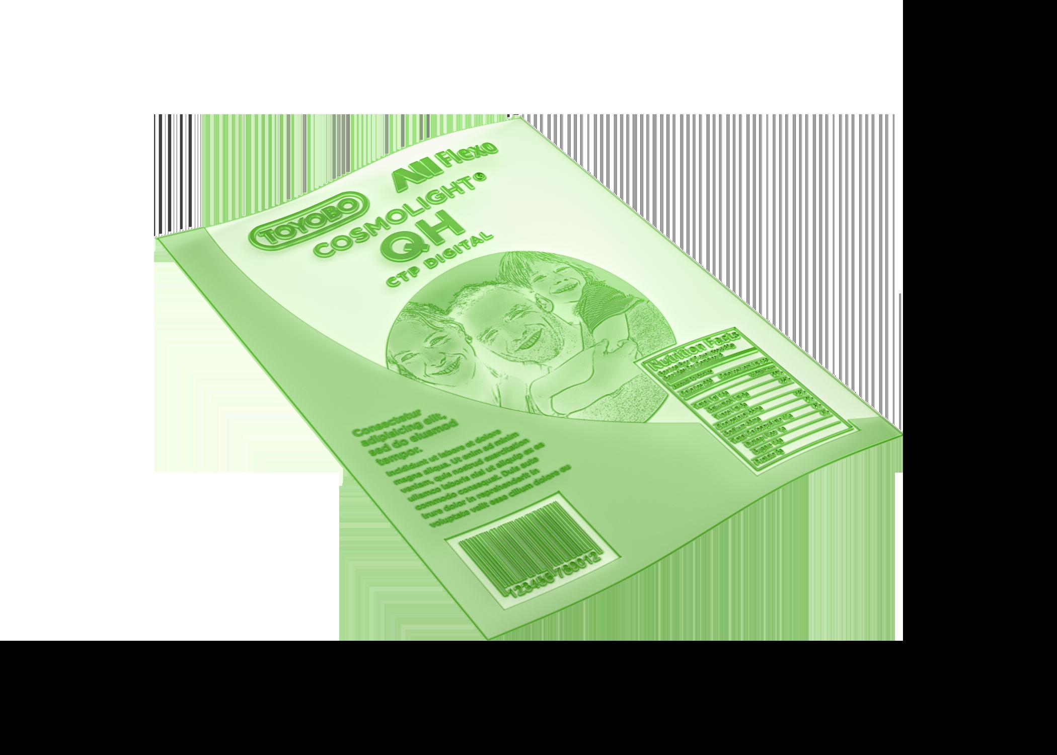 Toyobo-Cosmolight QZ-Water Washable Printing Plate-AllFlexo
