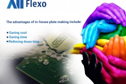 Making your own water washable flexo plates